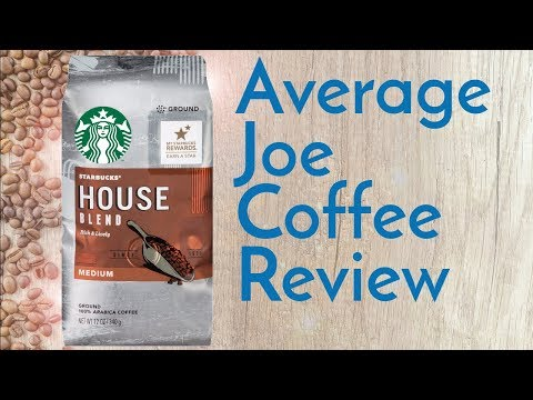Starbucks House Blend Coffee Review