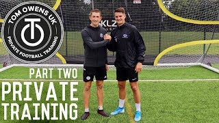 Reactions, Directional First Touch and Shooting Training Drills | Full Private Training Session