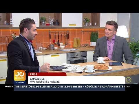 Lapszemle - Apáti Bence - ECHO TV