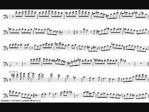 Bob McChesney 'Meet Me Where They Play The Blues' Trombone Solo Transcription