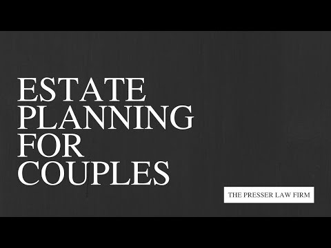Estate Planning for Couples