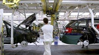 Škoda Octavia production in Czech Republic