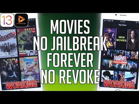 NEW Watch Movies & TV Shows iOS 13 - 13.4 / 12 FREE NO JAILBREAK NEVER REVOKE Jailbreak iPhone