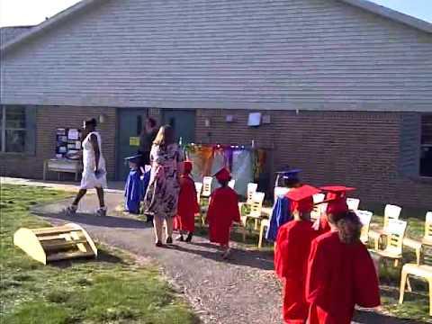 cj's graduation from childtime preschool june 2012