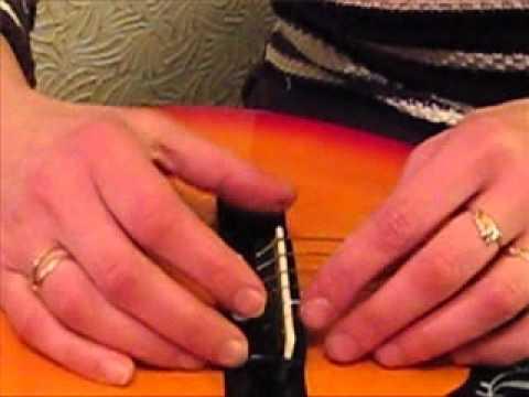 Ремонт гитары. Дополнение к курсам. Виктория Юдина