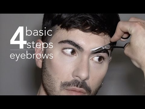4 Basic Steps - Men's Eyebrows