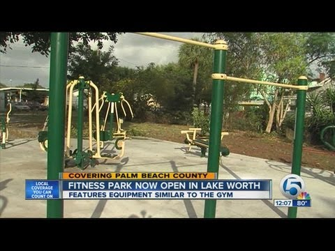 Lake Worth Fitness Park Now Open