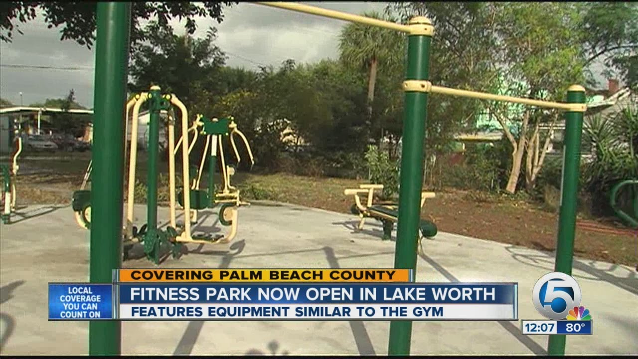 Lake Worth Fitness Park Now Open - YouTube
