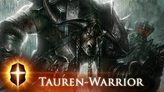 """Tauren Warrior"" - Original SpeedPainting by TAMPLIER 2012"