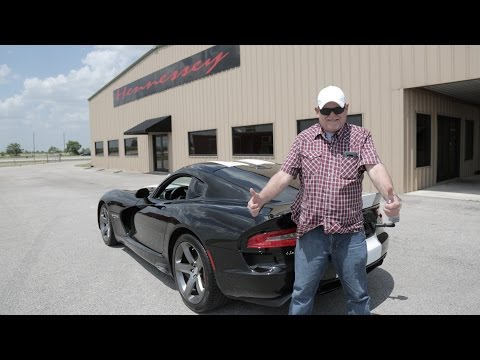 Hennessey Venom 800 Supercharged Dodge Viper Customer Delivery