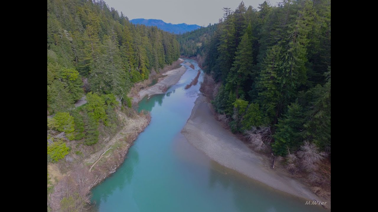 Eel River From Headwaters To The Sea Hd Youtube