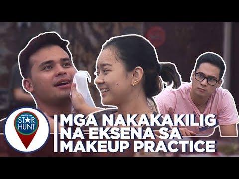 Camp Star Hunt: Ang mga nakakakilig na eksena sa makeup practice