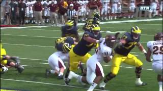 2013 Michigan highlights vs CMU
