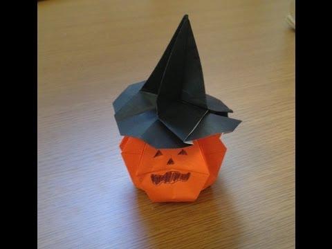 ハート 折り紙:かぼちゃ 折り紙 立体-youtube.com