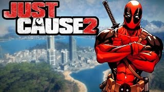 DEADPOOL EN PANAU I Just Cause 2 (Mods)