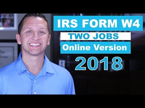"<span class=""title"">How to Fill Out IRS FORM W-4 with TWO JOBS</span>"