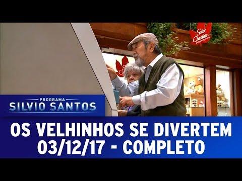 Os Velhinhos se Divertem | Câmeras Escondidas (03/12/17)