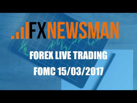 Forex Live Trading: FOMC 15/03