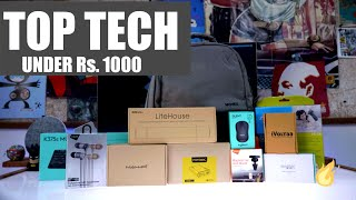 Top Tech Under Rs. 1000  - iGyaan Budget