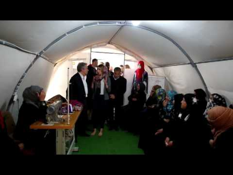 UN Secertary General Visit to Hassan Sham Camp
