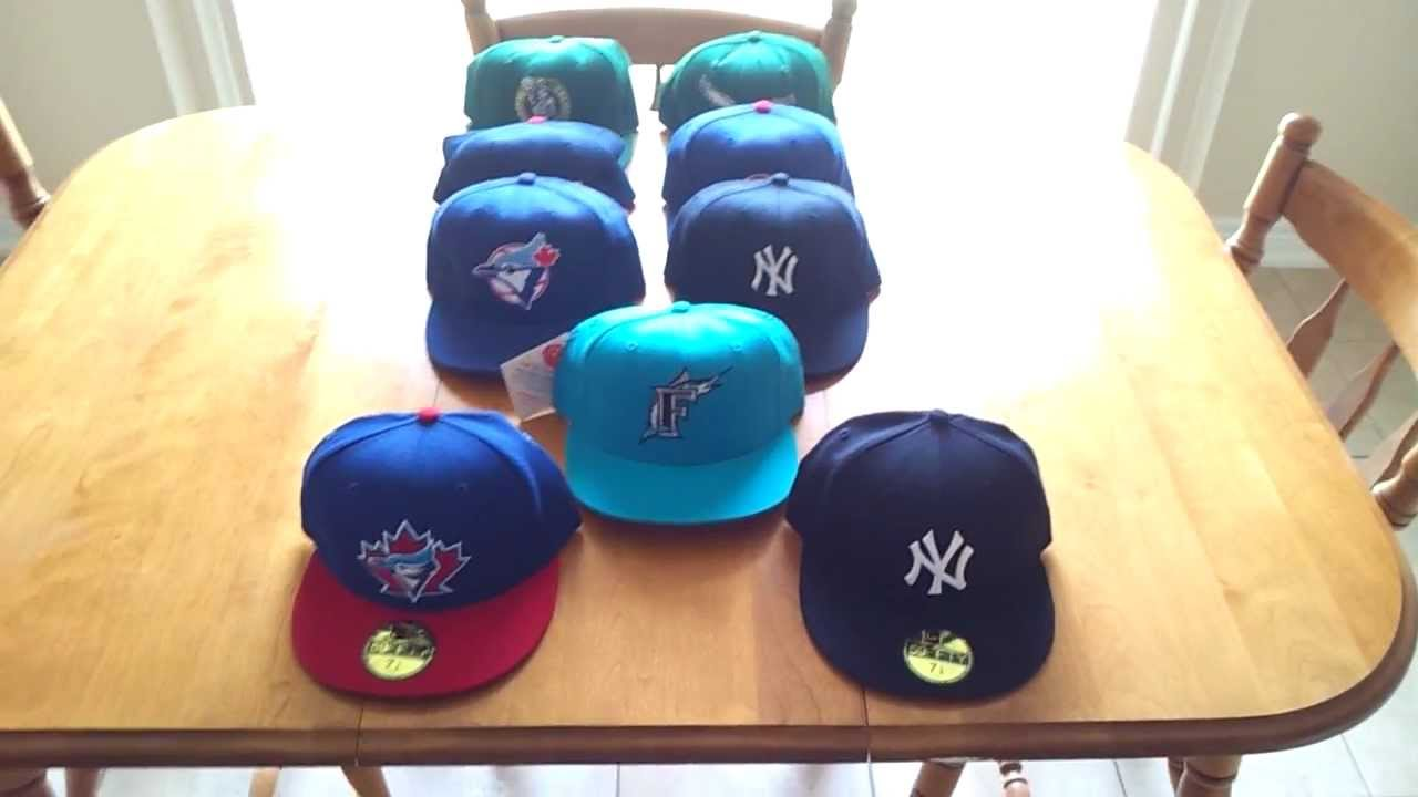 This is a Little Info on Vintage Authentic New Era Fitted Hat Collecting..  Video  2 - YouTube 9dd45879b73