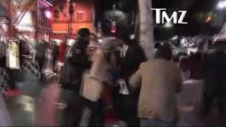 Tom Green, Andy Milonakis and Konvict Muzik going grazy and robbing a homeless guy