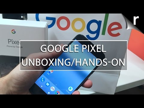 Google Pixel Phone Unboxing and Hands-on Review