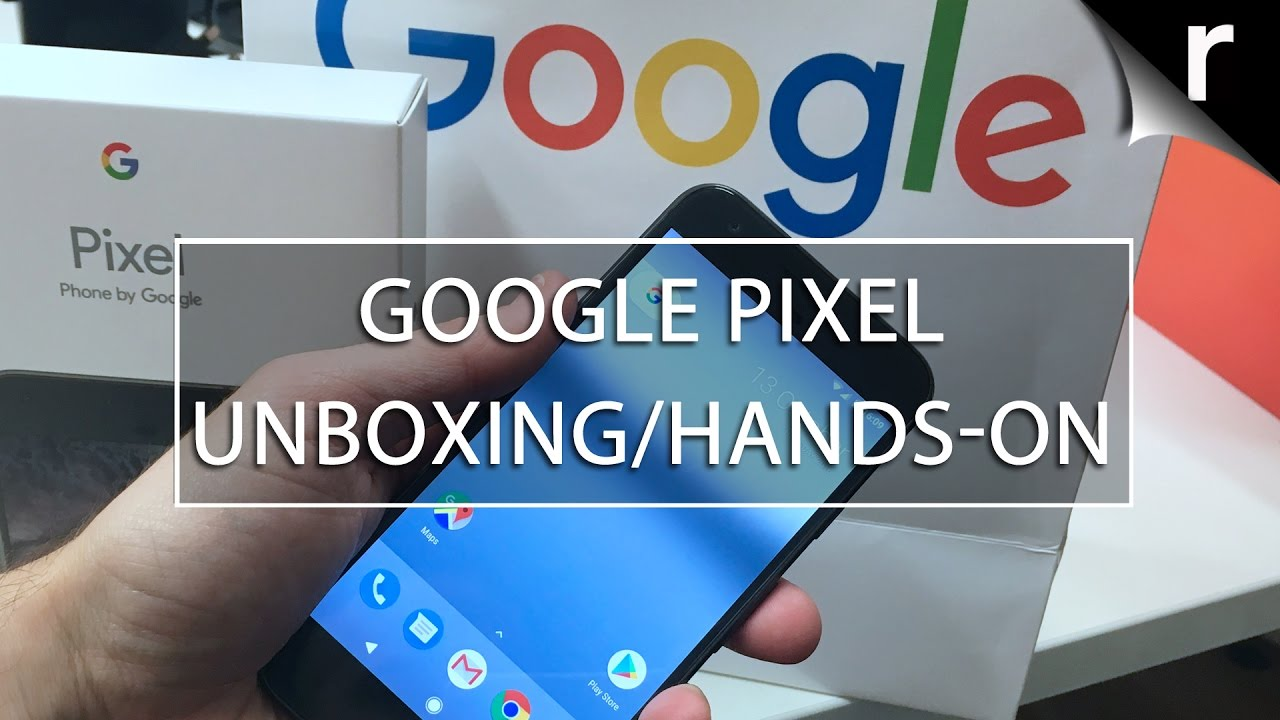Download Google Pixel Phone Unboxing and Hands-on Review