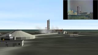 Orbiter 2010 - Gemini VI (GT-6) Launch Aborted Simulation