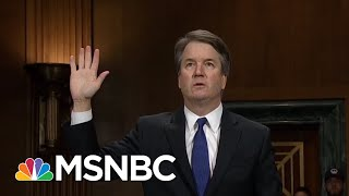 FBI Ends Brett Kavanaugh Probe Without Talking To Dozens Of Witnesses   The 11th Hour   MSNBC thumbnail