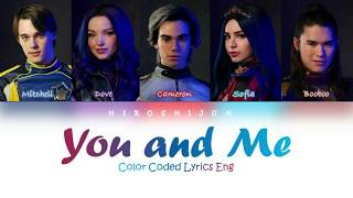 You and Me - From Descendants 2 (Color Coded Lyrics Eng)