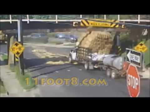 11Foot8 bridge crash compilation