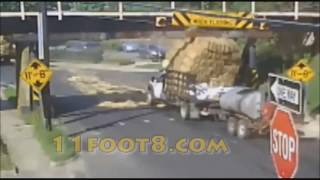 11Foot8 bridge crash compilation