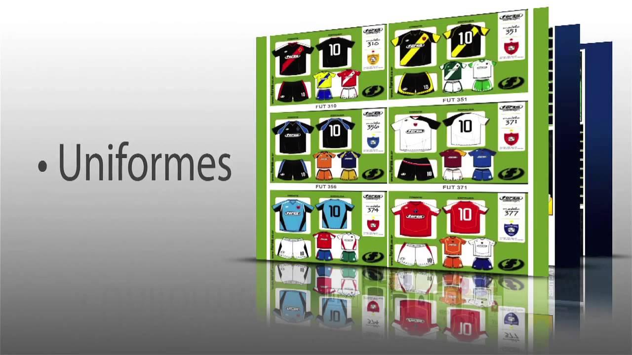 Corto Uniformes Forza - YouTube efb4b79f49663