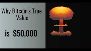 Top Reasons Why Bitcoin's True Value is $50,000!