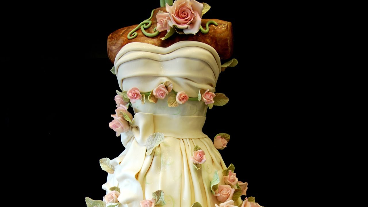 Sweet 16 Party Dress Cake By Pink Box
