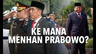 Tak Upacara Bersama Jokowi, Ke Mana Menhan Prabowo Subianto?
