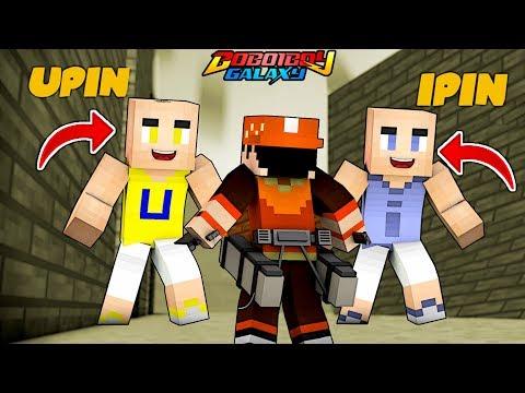 BoBoiBoy VS Upin & Ipin - BoBoiBoy Galaxy Minecraft