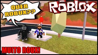 HOW TO FIND ROBLOX AND ASK VERY ROBUX!! (HISTORINHA ROBLOX)