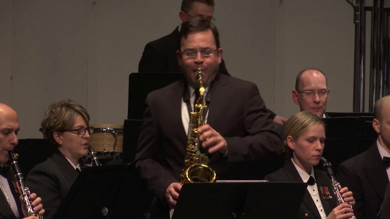 "Augusta Read Thomas: Hemke Concerto ""Prisms of Light,"" Taimur Sullivan w/ United States Navy Band"