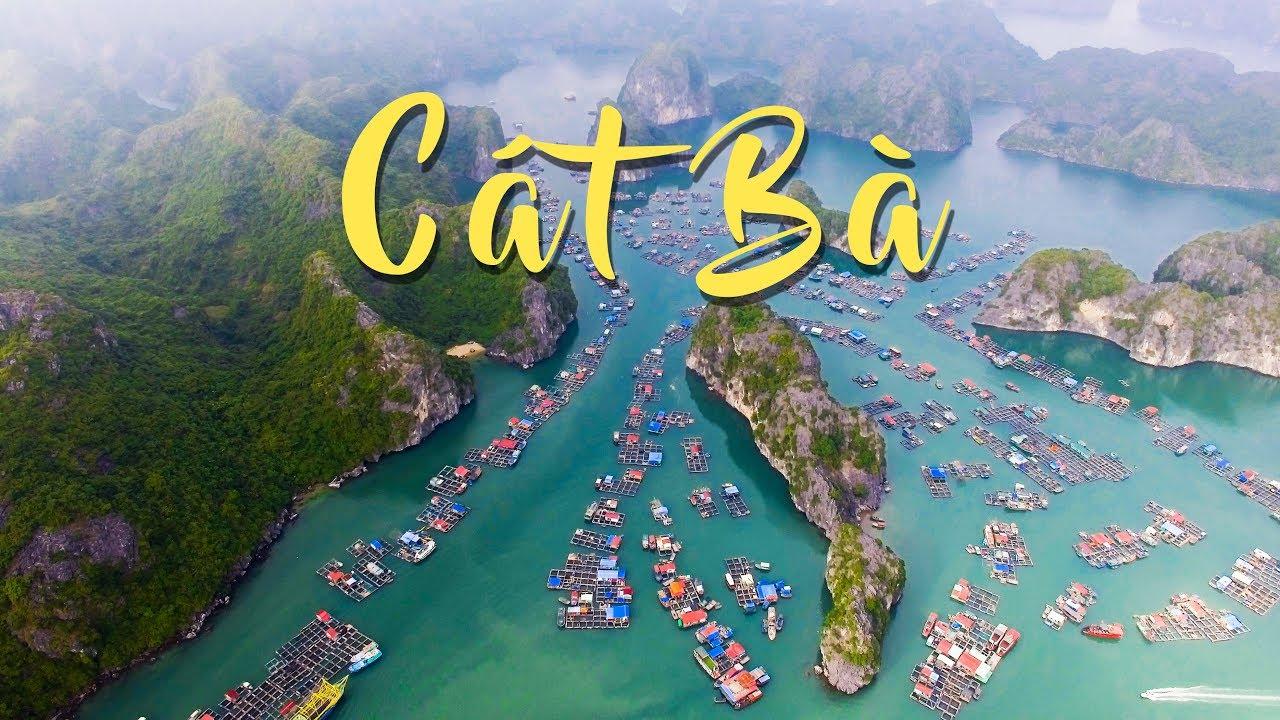 Cat Ba Island || Nhìn Thế Này Cát Bà Đẹp Hơn Hạ Long Là Chắc Chắn