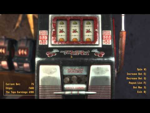 Fallout New Vegas Slot Machine Jackpot