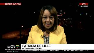 De Lille reacts to Arms Deal ruling