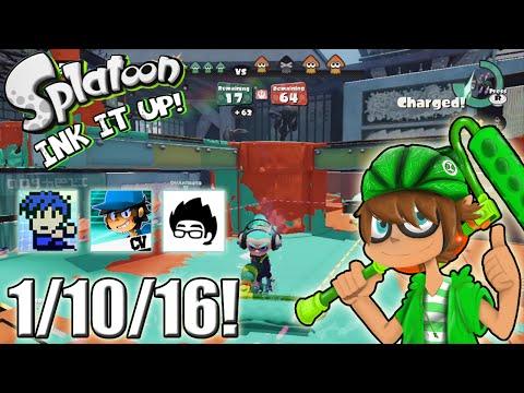 Splatoon - Ink It Up! 1/10/16! Close, but No Squid!