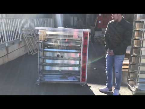30 Chicken Gas Single Deck Rotate Chicken Stove  Rotisserie Machine Rotation
