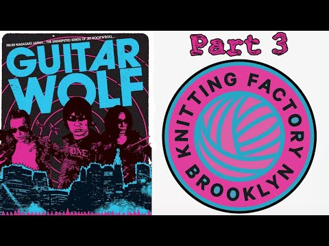 Guitar Wolf Live at the Knitting Factory 3.31.12 Encore Set 1