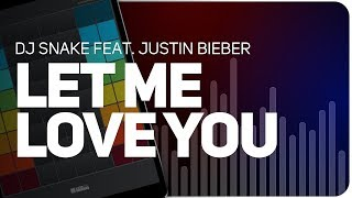 Playing Let Me Love You | DJ Snake feat. Justin Bieber on SUPER PADS LIGHTS - KIT EDGE