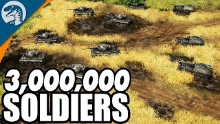 LARGEST BATTLE IN HISTORY, 3,000,000 TROOPS | Blitzkrieg 3 Gameplay