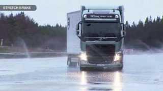 Volvo Trucks повышает безопасность движения по скользким зимним дорогам