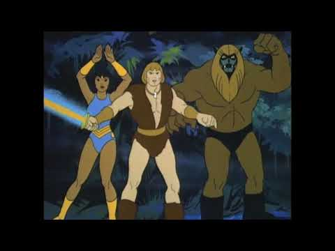 Thundarr the Barbarian Fights the Statue of Liberty